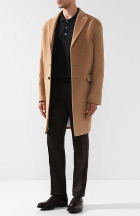 Мужские классические кожаные оксфорды H`D`S`N BARACCO темно-коричневого цвета, арт. 57309.1* | Фото 2