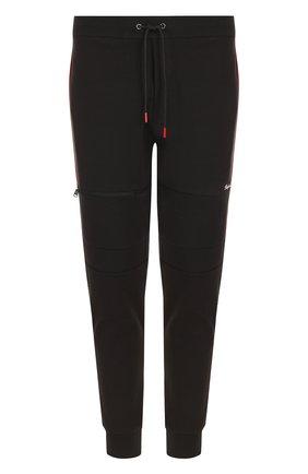 Мужские хлопковые джоггеры с карманами RALPH LAUREN черного цвета, арт. 790687050 | Фото 1