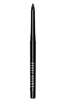 Женские гелевая подводка для век, оттенок в карандаше, оттенок pitch black BOBBI BROWN бесцветного цвета, арт. EATK-01 | Фото 1