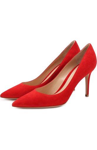 Замшевые туфли Gianvito 85