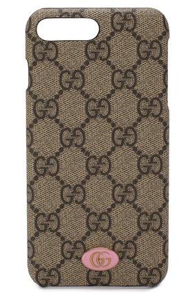 Чехол для iPhone 7/8 Plus GG Supreme Gucci  | Фото №1