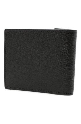 Мужской кожаное портмоне с логотипом бренда GUCCI черного цвета, арт. 428725/DJ20T | Фото 2