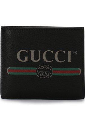 Кожаное портмоне с отделениями для кредитных карт и монет | Фото №1