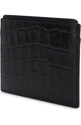 Мужской кожаный футляр для кредитных карт SMYTHSON темно-синего цвета, арт. 1016999 | Фото 2