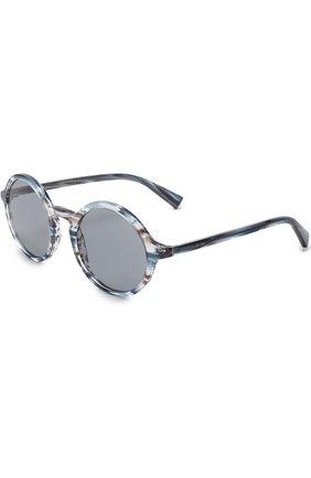 Мужские солнцезащитные очки DOLCE & GABBANA голубого цвета, арт. 4342-3188/1   Фото 1