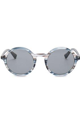 Мужские солнцезащитные очки DOLCE & GABBANA голубого цвета, арт. 4342-3188/1   Фото 2