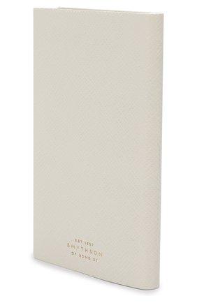 Мужской записная книжка в кожаной обложке SMYTHSON белого цвета, арт. 1020136 | Фото 2