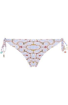 Плавки-бикини с принтом Lazul разноцветный | Фото №1