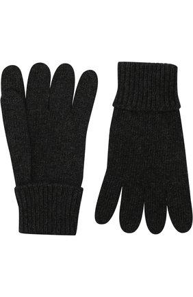 Детские перчатки из смеси шерсти и кашемира IL TRENINO темно-серого цвета, арт. 17 5139/E0 | Фото 2