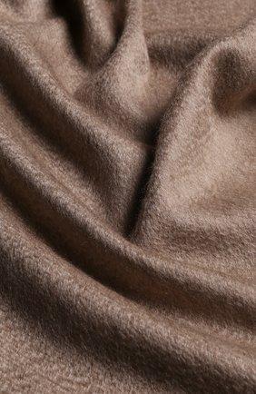 Мужской кашемировый шарф с бахромой GIORGIO ARMANI бежевого цвета, арт. 745208/8A130 | Фото 2