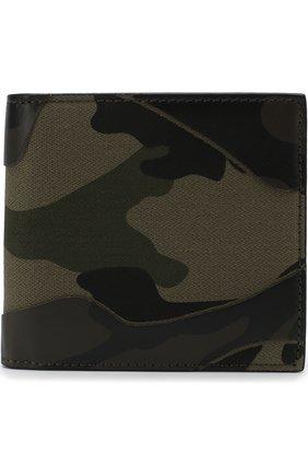 Комбинированное портмоне Valentino Garavani с отделениями для кредитных карт | Фото №1