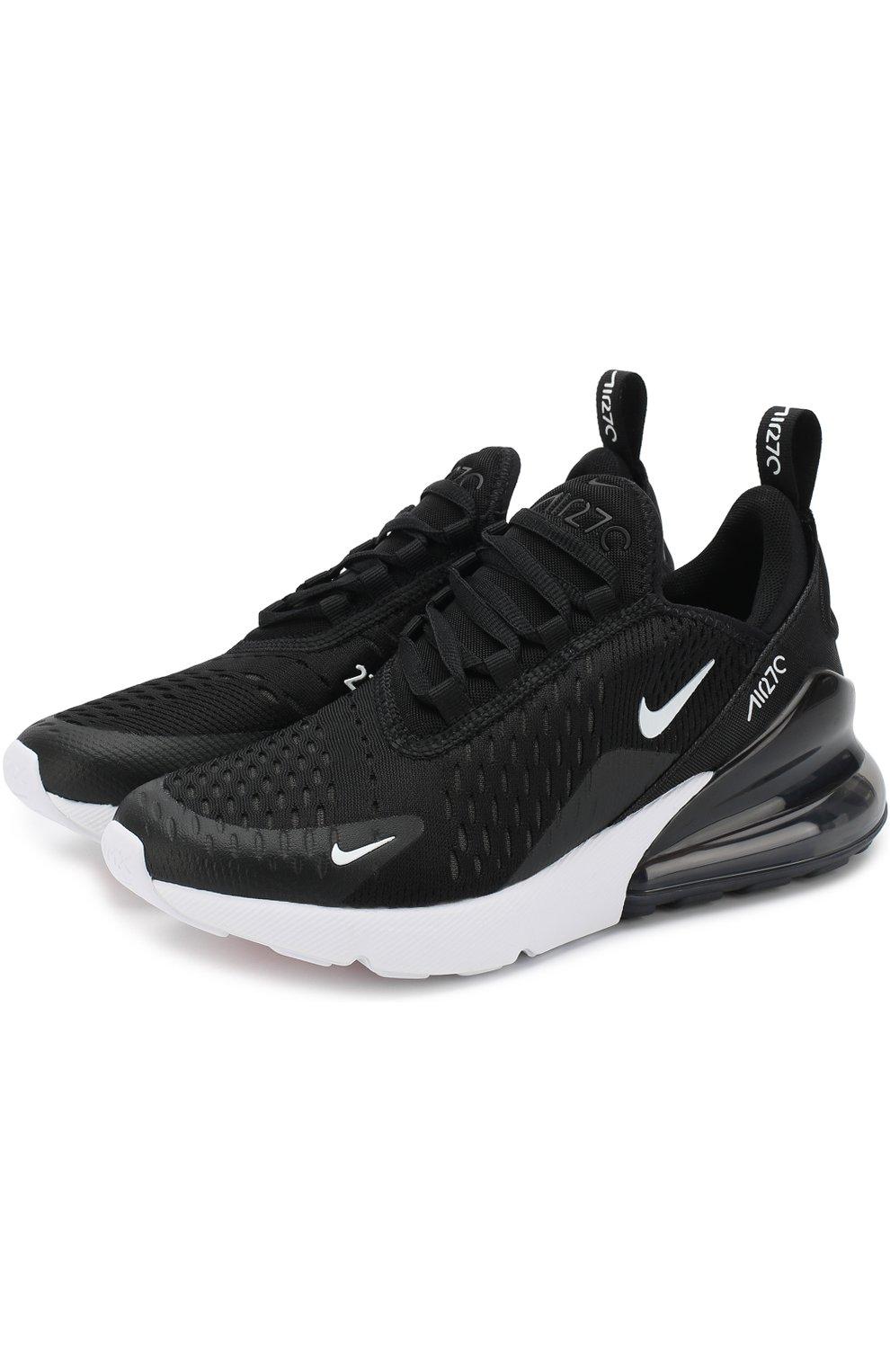 ba4f452d67c2 Детские кроссовки nike air max 270 NIKE черно-белого цвета — купить ...