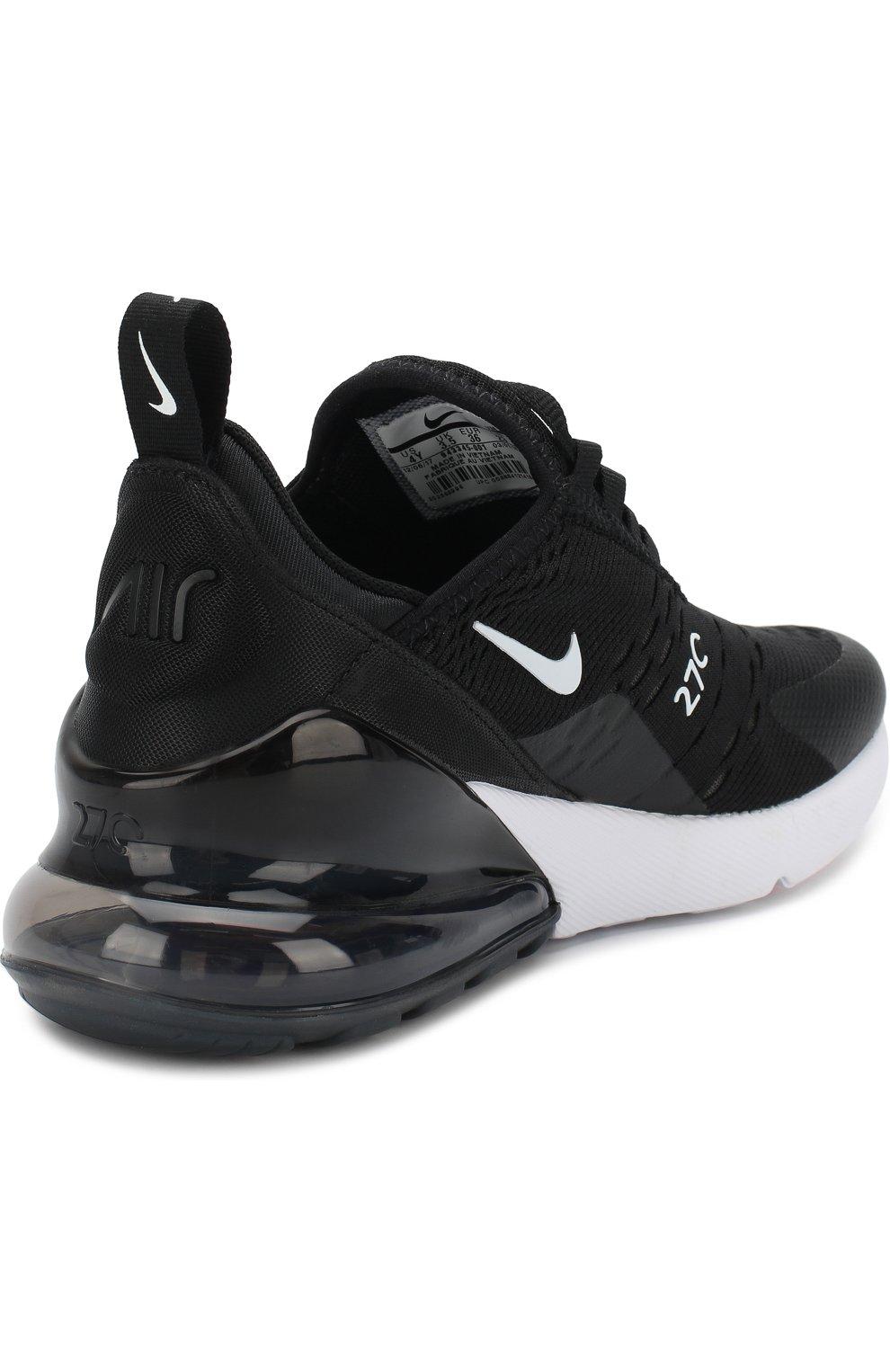 ffdff197 Детские кроссовки nike air max 270 NIKE черно-белого цвета — купить ...