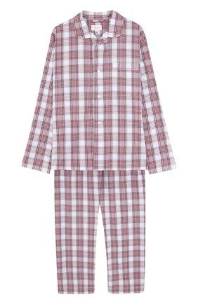 Детская хлопковая пижама DEREK ROSE разноцветного цвета, арт. 7025-RANG034/13-16 | Фото 1