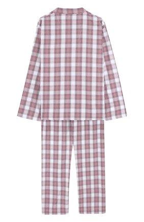 Детская хлопковая пижама DEREK ROSE разноцветного цвета, арт. 7025-RANG034/13-16 | Фото 2