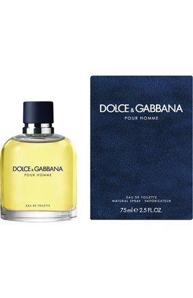 Мужской туалетная вода pour homme DOLCE & GABBANA бесцветного цвета, арт. 3020785DG | Фото 1