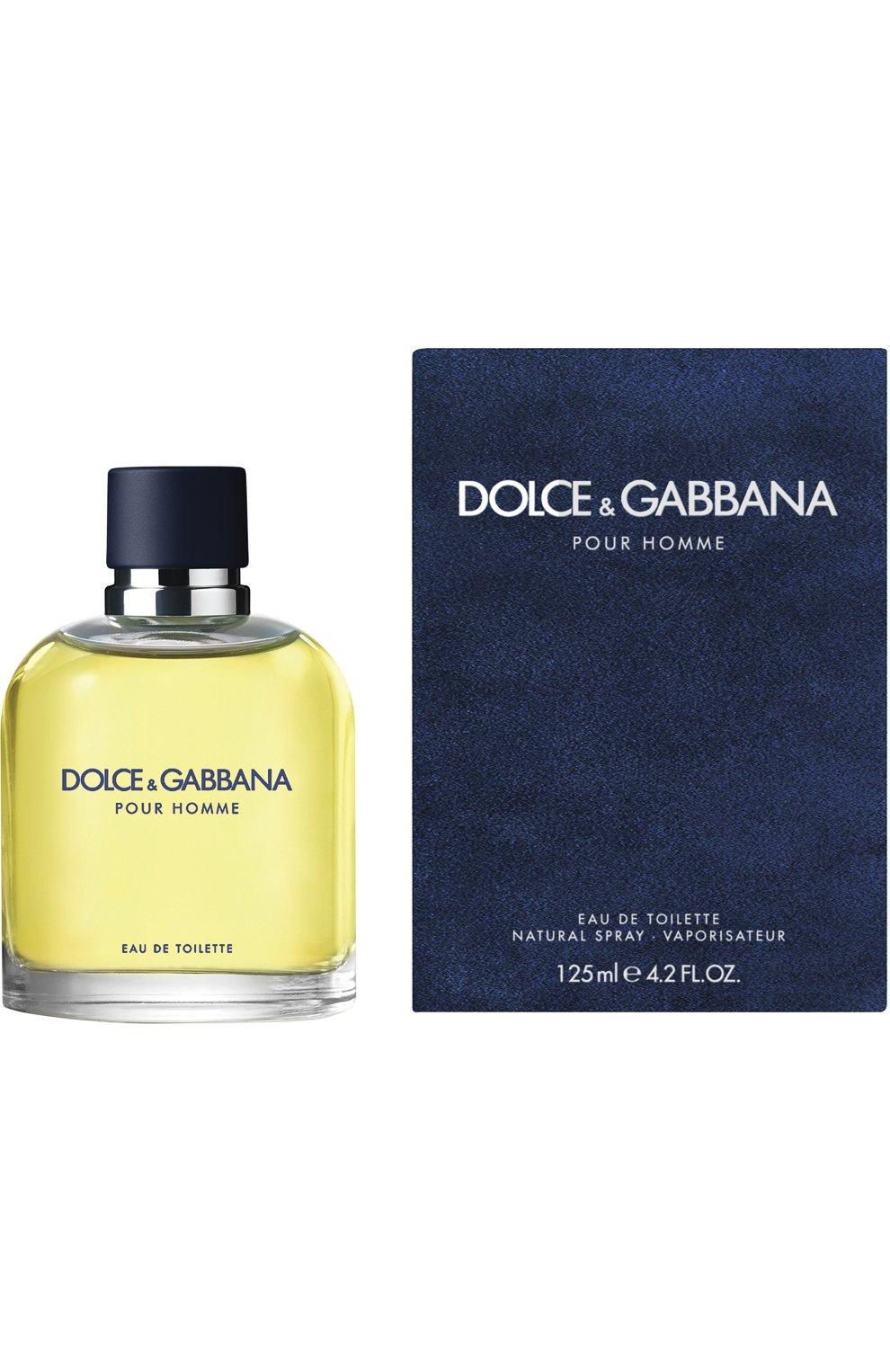 Мужской туалетная вода pour homme DOLCE & GABBANA бесцветного цвета, арт. 3020775DG   Фото 1