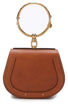 Женская сумка nile small CHLOÉ светло-коричневого цвета, арт. CHC17US301HEU | Фото 1