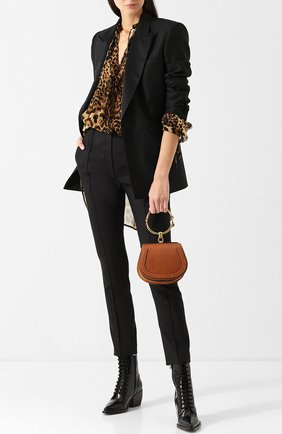Женская сумка nile small CHLOÉ светло-коричневого цвета, арт. CHC17US301HEU | Фото 2