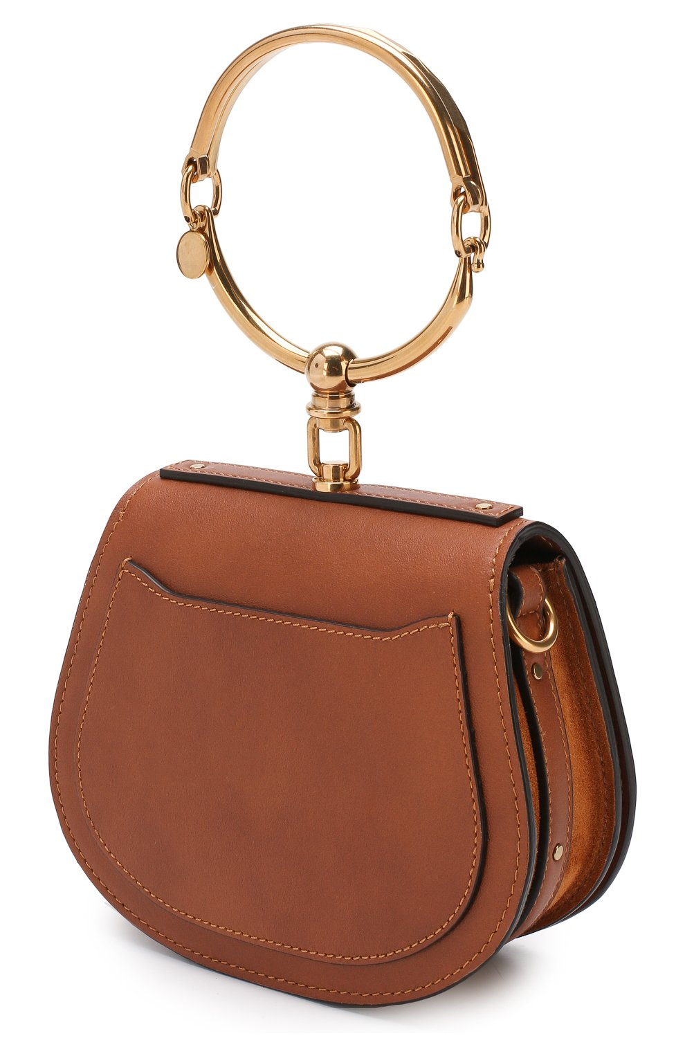 Женская сумка nile small CHLOÉ светло-коричневого цвета, арт. CHC17US301HEU | Фото 3