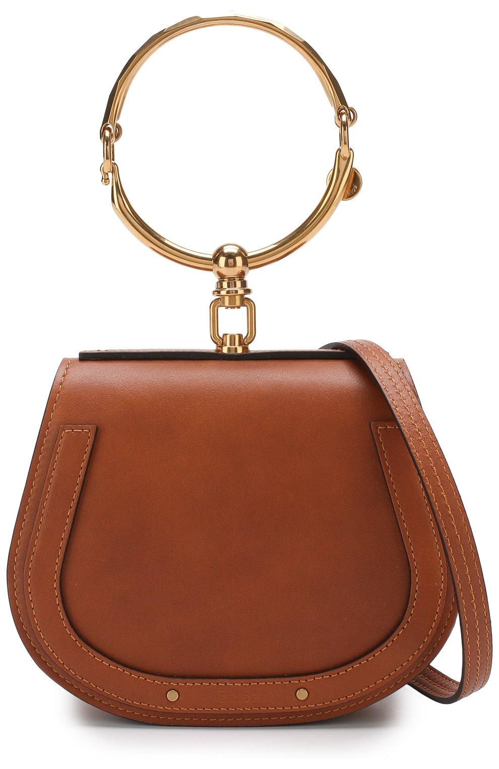 Женская сумка nile small CHLOÉ светло-коричневого цвета, арт. CHC17US301HEU | Фото 6