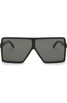 Женские солнцезащитные очки SAINT LAURENT черного цвета, арт. SL 183 BETTY S 001   Фото 2