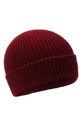 Мужская кашемировая шапка GIORGIO ARMANI красного цвета, арт. 747348/8A510 | Фото 1