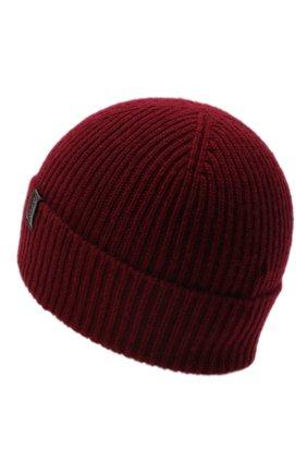 Мужская кашемировая шапка GIORGIO ARMANI красного цвета, арт. 747348/8A510 | Фото 2