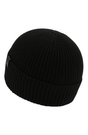 Мужская кашемировая шапка GIORGIO ARMANI черного цвета, арт. 747348/8A510 | Фото 2