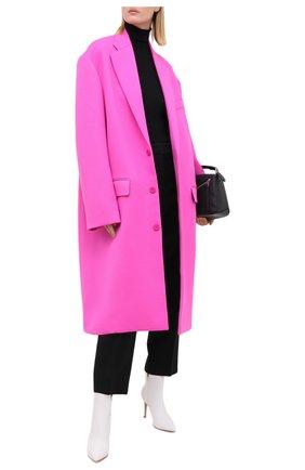 Женские кожаные ботильоны на шпильке GIANVITO ROSSI белого цвета, арт. G70321.85RIC.NAPBIAN   Фото 2 (Статус проверки: Проверено, Проверена категория; Подошва: Плоская; Каблук высота: Высокий; Каблук тип: Шпилька; Материал внутренний: Натуральная кожа)