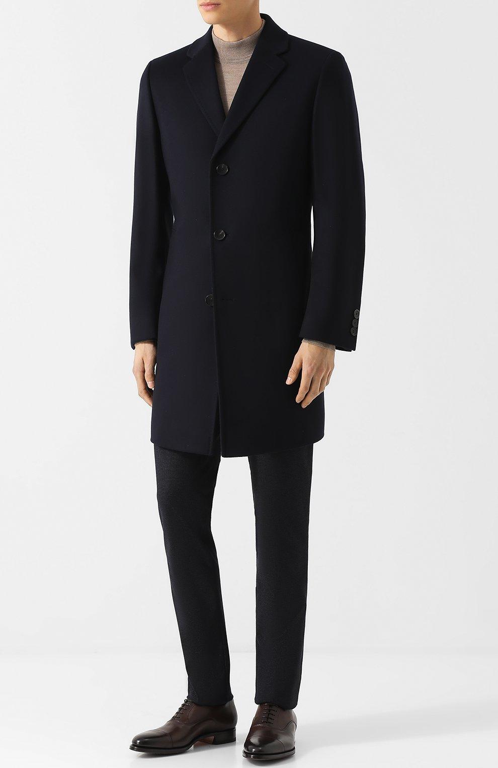 Пальто из смеси шерсти и кашемира   Фото №2