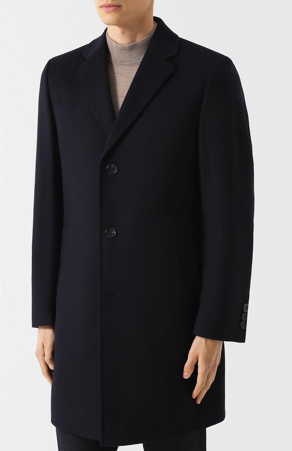 Пальто из смеси шерсти и кашемира   Фото №3
