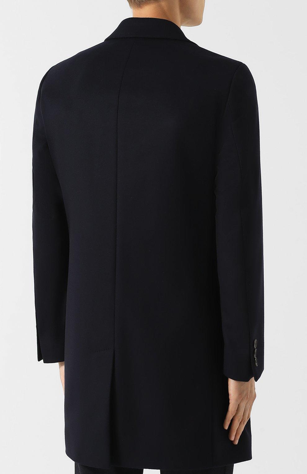 Пальто из смеси шерсти и кашемира   Фото №4