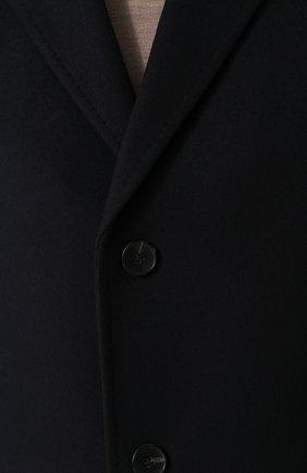 Пальто из смеси шерсти и кашемира   Фото №5