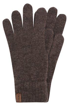 Мужские кашемировые перчатки GIORGIO ARMANI темно-серого цвета, арт. 744141/7A211 | Фото 1