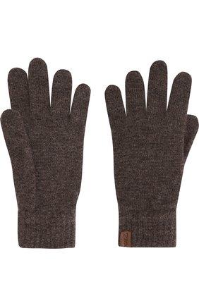 Мужские кашемировые перчатки GIORGIO ARMANI темно-серого цвета, арт. 744141/7A211 | Фото 2
