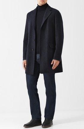 Мужские джинсы LORO PIANA темно-синего цвета, арт. FAG4845 | Фото 2