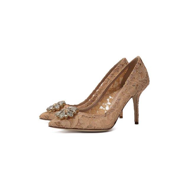 Текстильные туфли Rainbow Lace Dolce & Gabbana