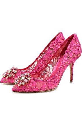 Кружевные туфли Rainbow Lace | Фото №1