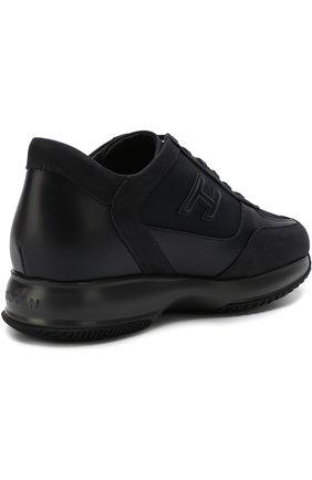 Текстильные кроссовки на шнуровке | Фото №4