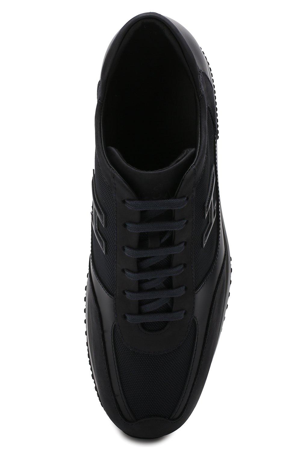 Текстильные кроссовки на шнуровке | Фото №5