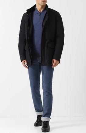 Мужские джинсы прямого кроя BRIONI синего цвета, арт. SPL40L/07D24/MERIBEL | Фото 2
