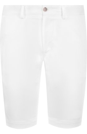 Хлопковые шорты прямого кроя | Фото №1
