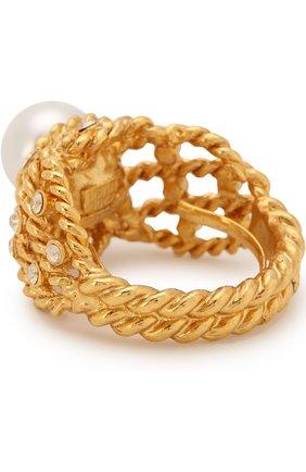 Женское кольцо с декоративной отделкой OSCAR DE LA RENTA золотого цвета, арт. P18J405G0L | Фото 2