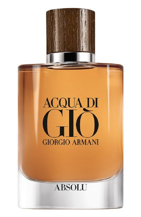 Мужской парфюмерная вода acqua di gio absolu GIORGIO ARMANI бесцветного цвета, арт. 3614271992901 | Фото 1