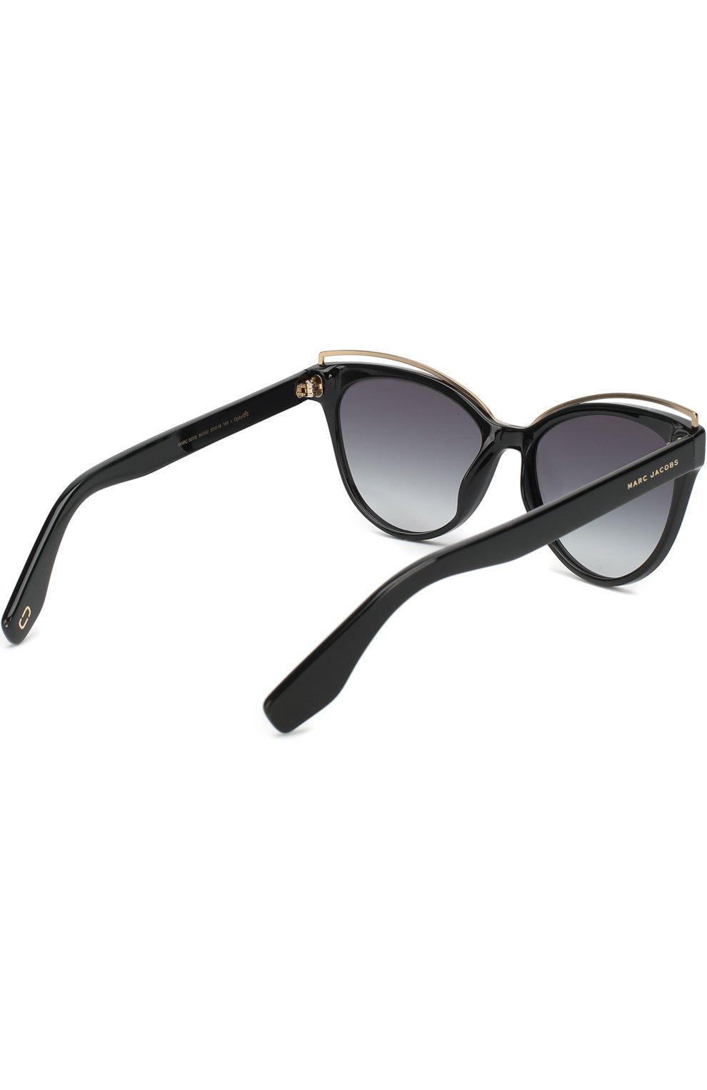 Женские солнцезащитные очки MARC JACOBS (THE) черного цвета, арт. MARC 301 807 | Фото 3
