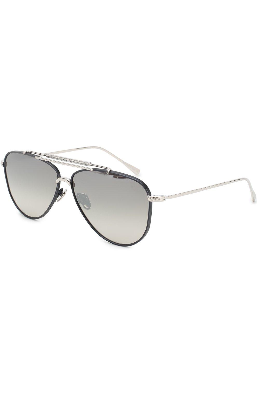 Женские солнцезащитные очки FRENCY&MERCURY серебряного цвета, арт. SPACER/SSNV   Фото 1