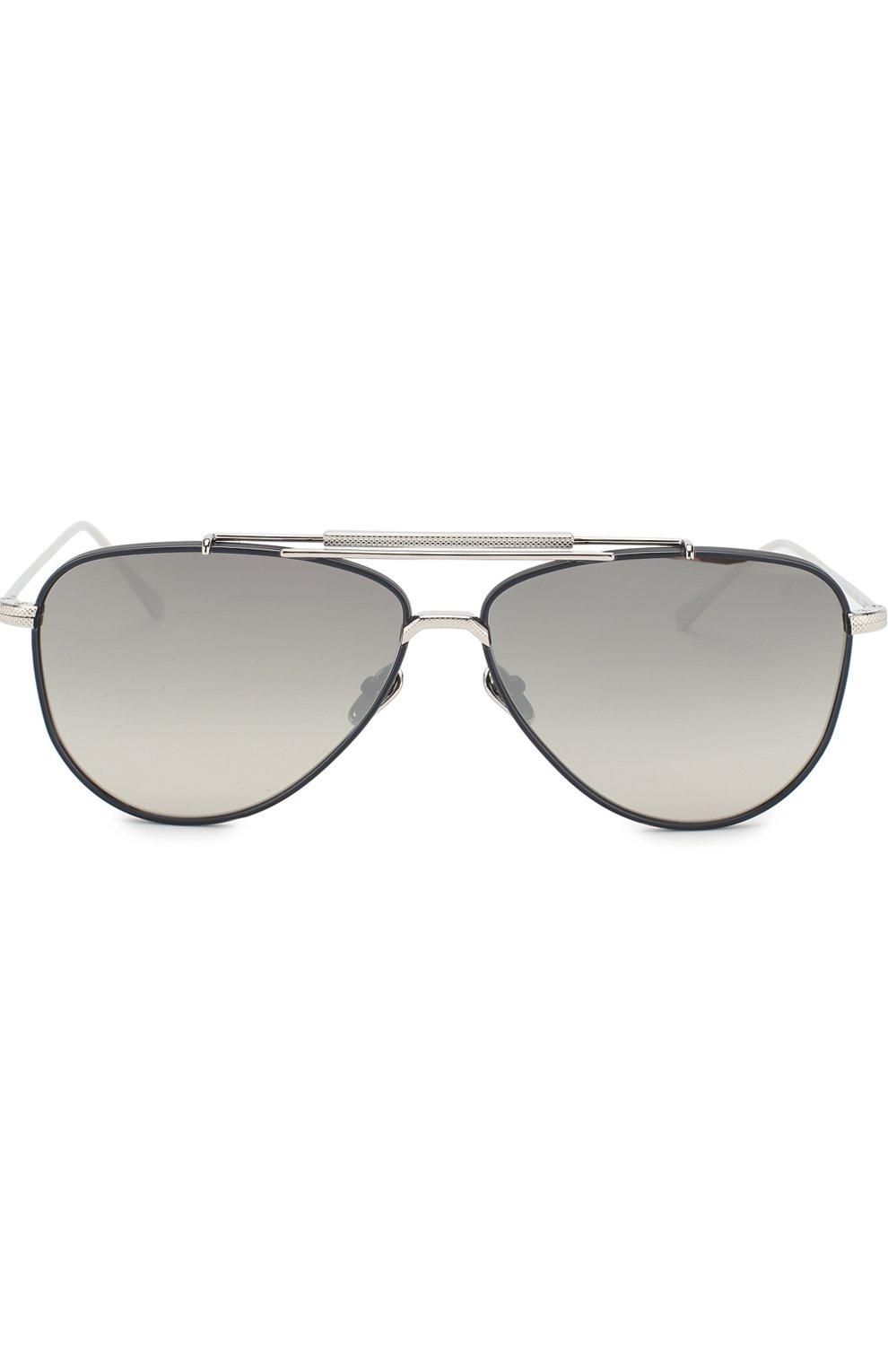 Женские солнцезащитные очки FRENCY&MERCURY серебряного цвета, арт. SPACER/SSNV   Фото 2