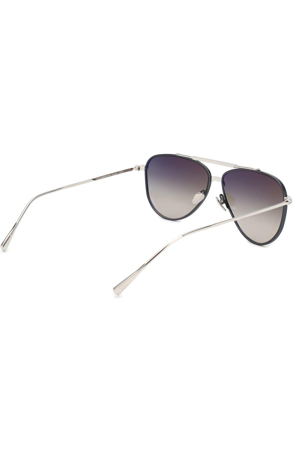 Женские солнцезащитные очки FRENCY&MERCURY серебряного цвета, арт. SPACER/SSNV   Фото 3