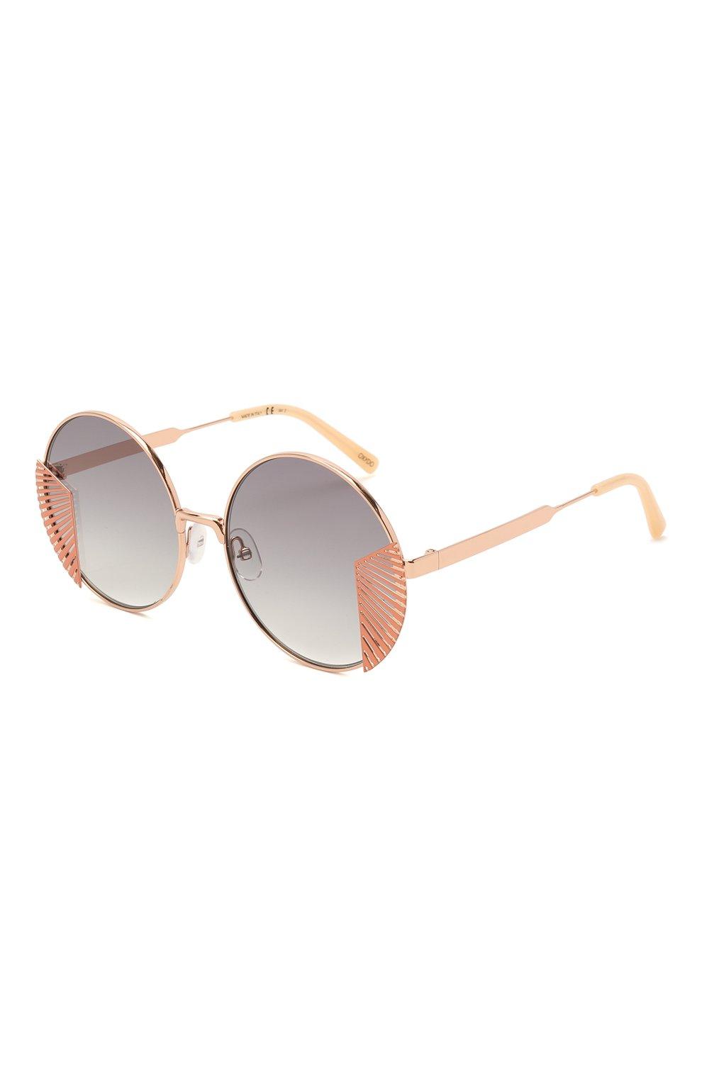 Женские солнцезащитные очки OXYDO золотого цвета, арт. 0.N0 2.2 DDB | Фото 1